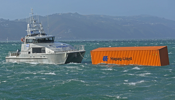 floating container